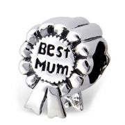 Best Mum Sterling Silver Bead For European Style Bracelets